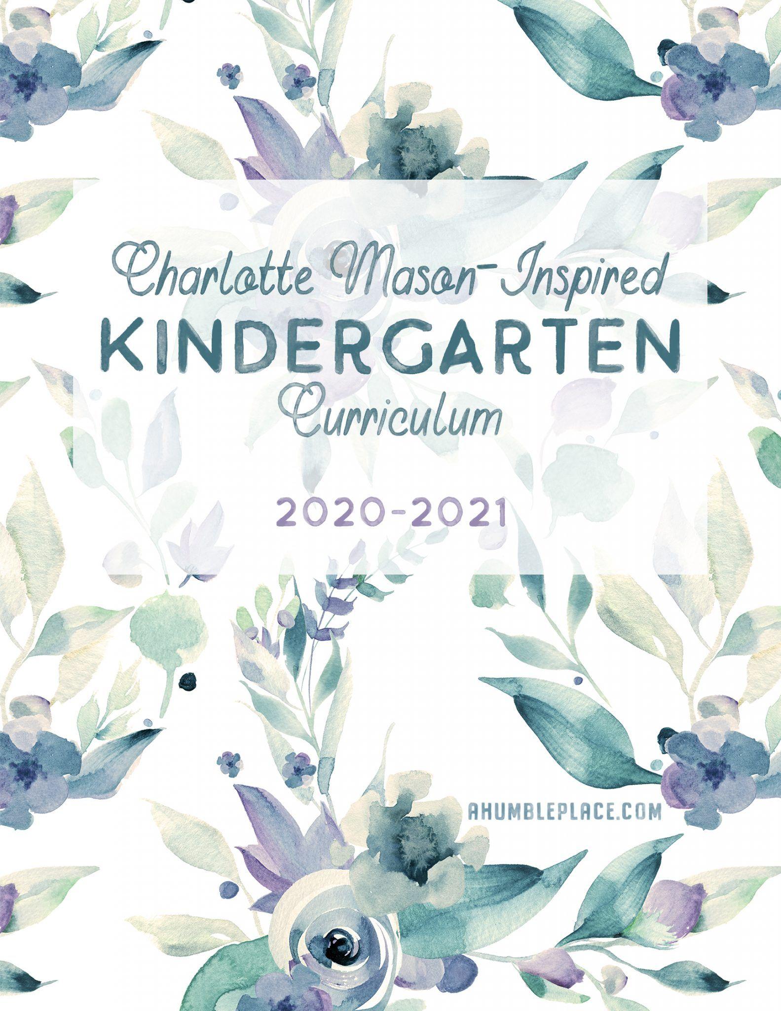 Charlotte Mason-Inspired Kindergart…