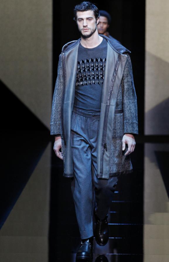 Giorgio Armani Fall 2017 Menswear