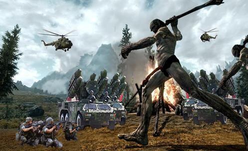 Os GIGANTES existiram? - Impressionante Confronto entre Militares e Gigantes!!