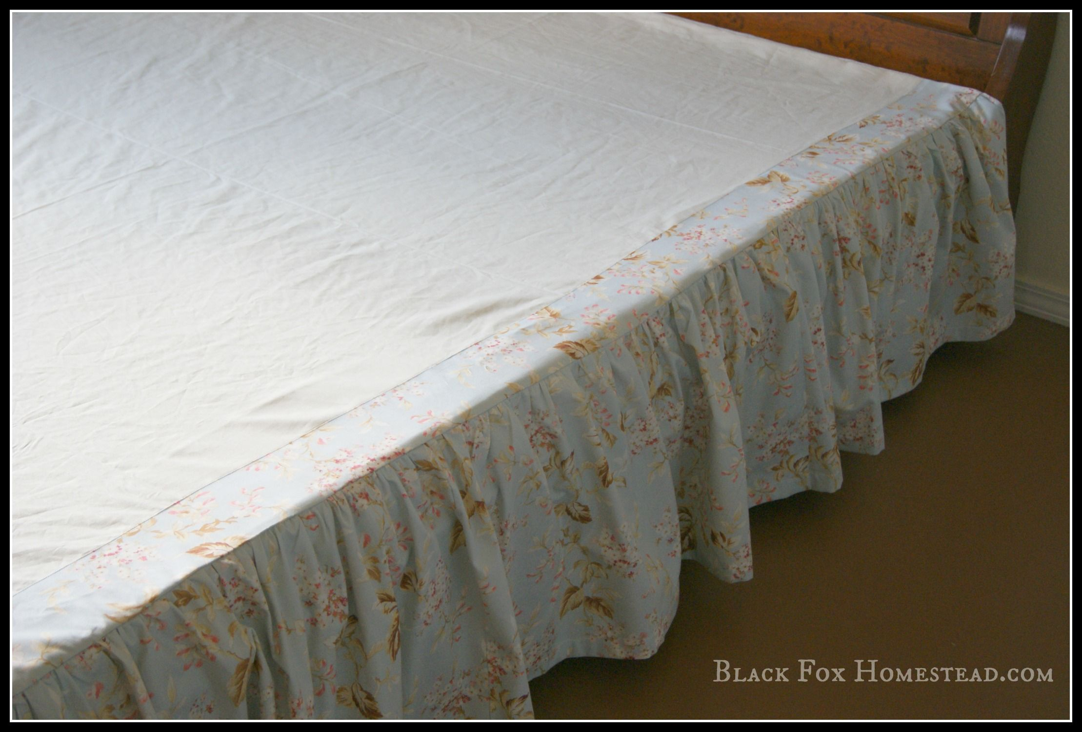 Baby Bed Bed Skirt Pattern