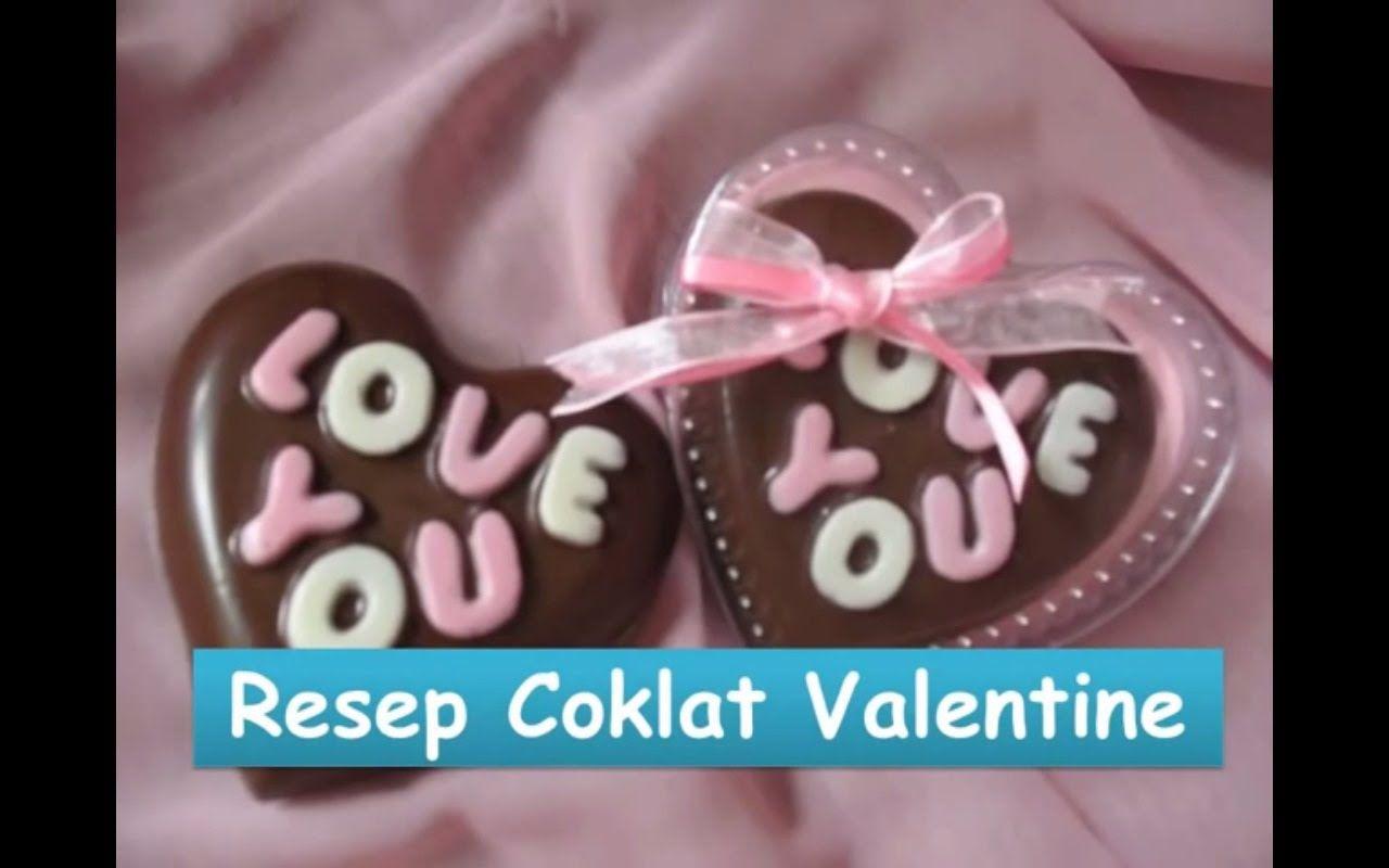 Resep Dan Cara Membuat Coklat Valentine Nyokmasak Http Youtu Be Txgoctsethk Cokelat Kue Valentine