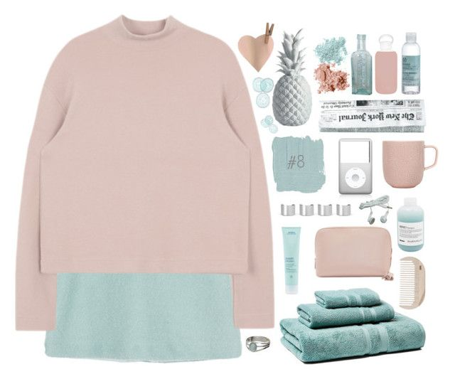 """""""ADDY'S 12 SETS OF CHRISTMAS // SET #8"""" by ritaflagy ❤ liked on Polyvore featuring Maison Margiela, Yves Saint Laurent, Bare Escentuals, Aveda, Bobbi Brown Cosmetics, Davines, iittala, HAY, The Body Shop and bkr"""