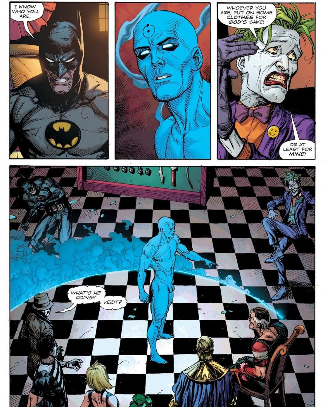 3e1e0de3e5b7e5 Lol Jokers reaction to seeing Dr.Manhattan for the first time is mine when I