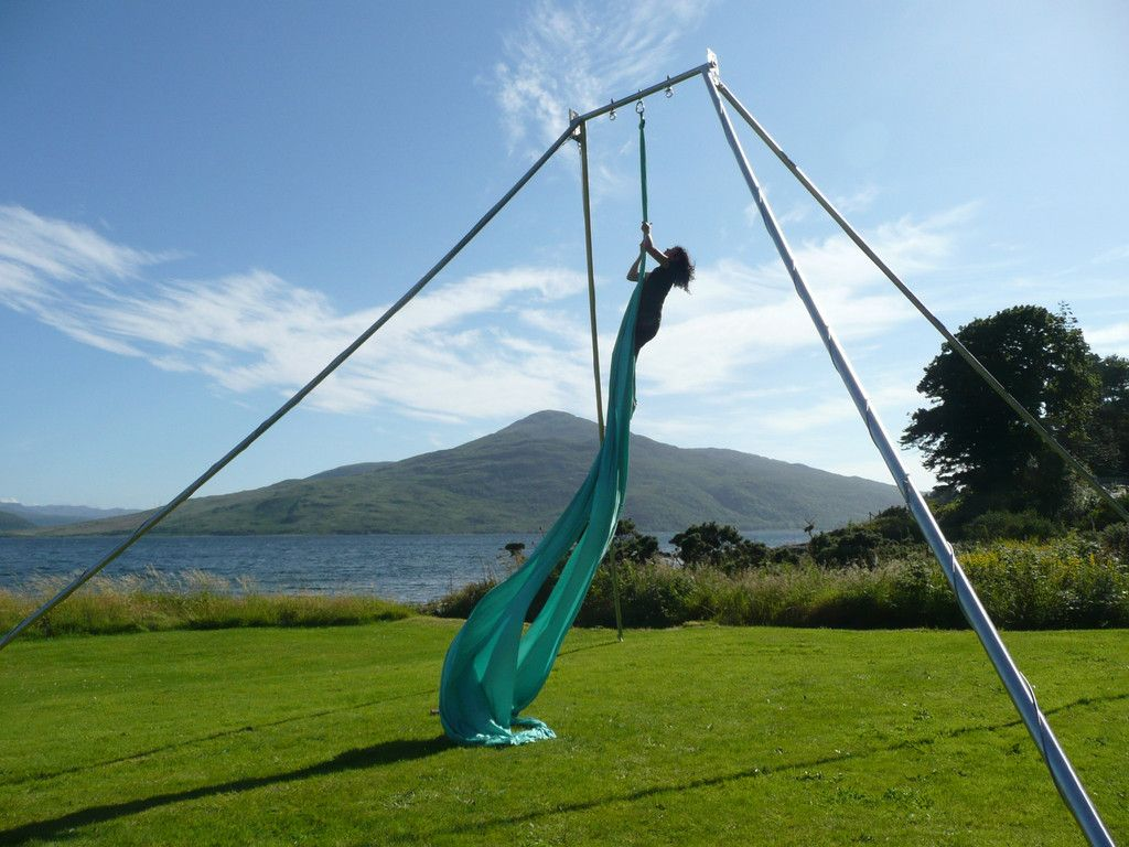 free standing rigging  aerial silksaerial     free standing rigging   rigs gym and exercises  rh   pinterest