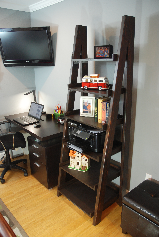DIY Ladder Shelf DIY Done Right Ladder shelf decor
