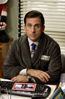 Image result for michael scott robe