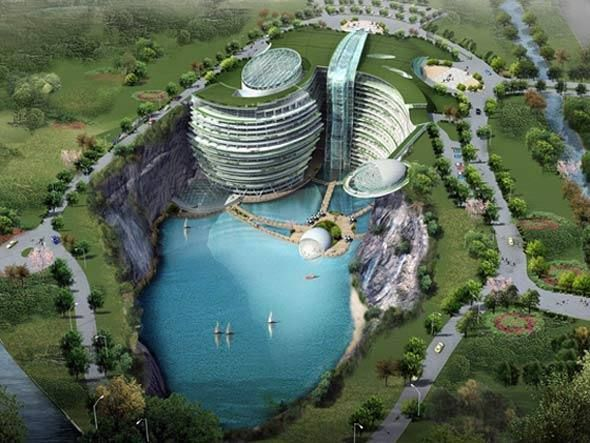 Shimao Wonderland Intercontinental, resort na China