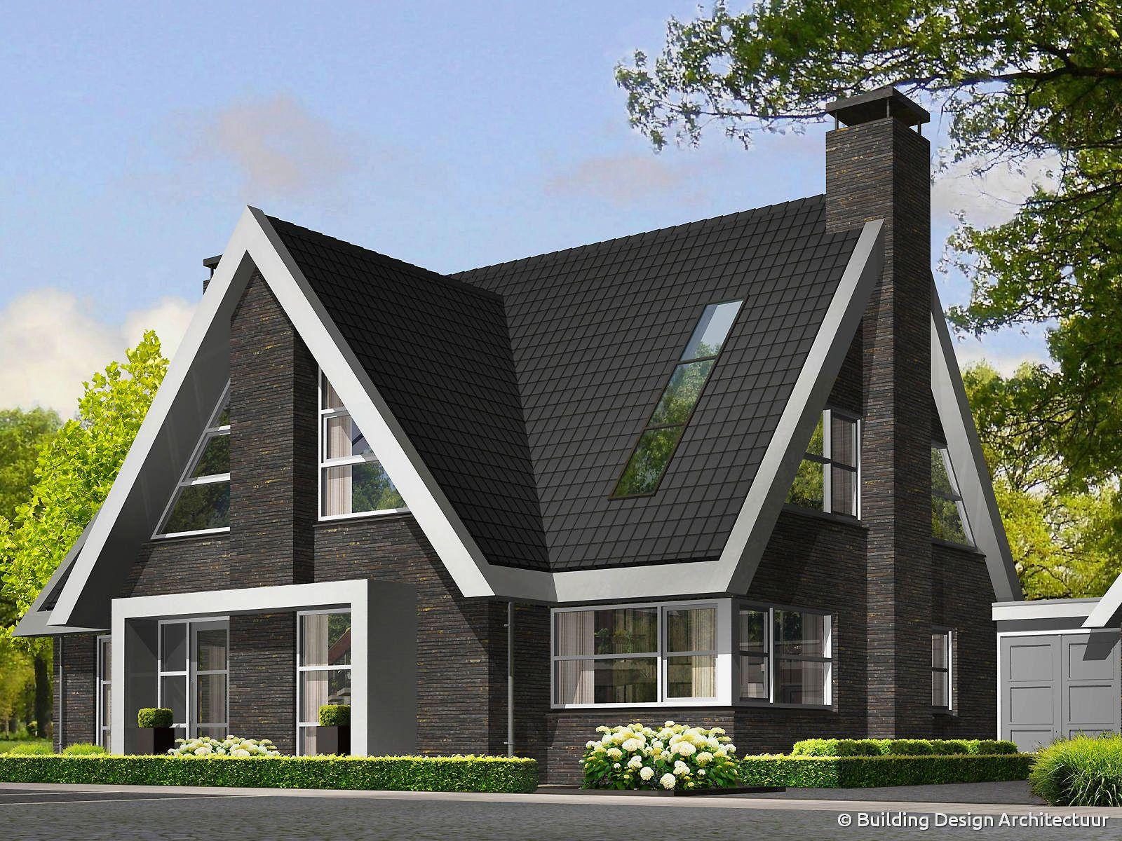 Exclusieve eigentijdse villa building design architectuur