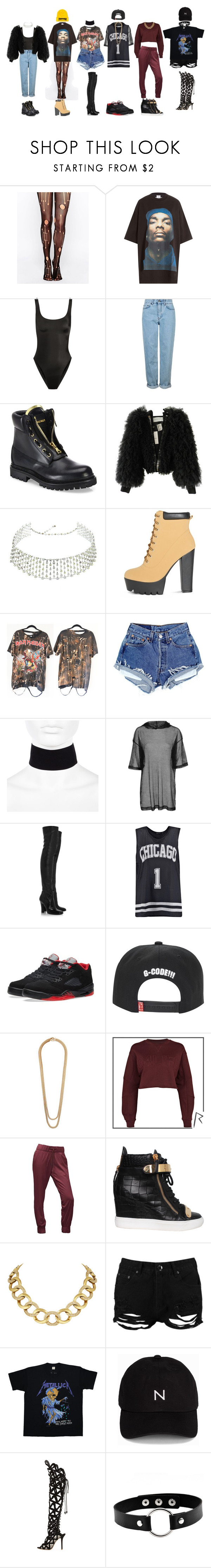 """""""DC- '휘파람'(WHISTLE)"""" by yonce4park ❤ liked on Polyvore featuring Leg Avenue, Vetements, Norma Kamali, Topshop, Balmain, Viktor & Rolf, H.Stern, River Island, Yves Saint Laurent and Boohoo"""