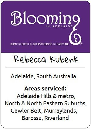 Rebecca Kubenk - Blooming in Adelaide   Placenta encapsulation and much more in Adelaide, Australia