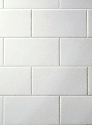 Dpi Aquatile 9 X 6 Metroliner White Bath Tileboard Wall Panel Sample At Menards Dpi Aquatile 9 X 6 Metroliner White Bath Til Shower Wall Panels Tiny Bathrooms Basement Remodeling