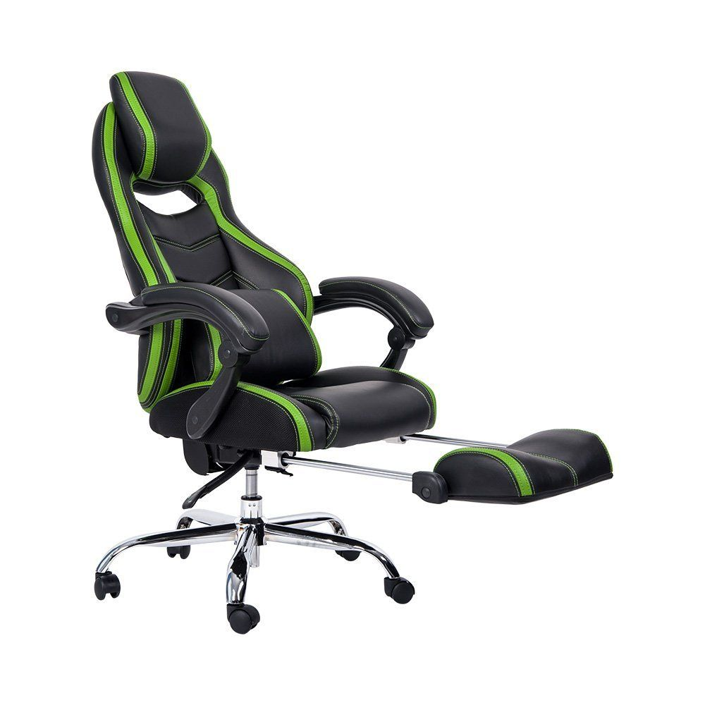 Office Chair With Built In Footrest