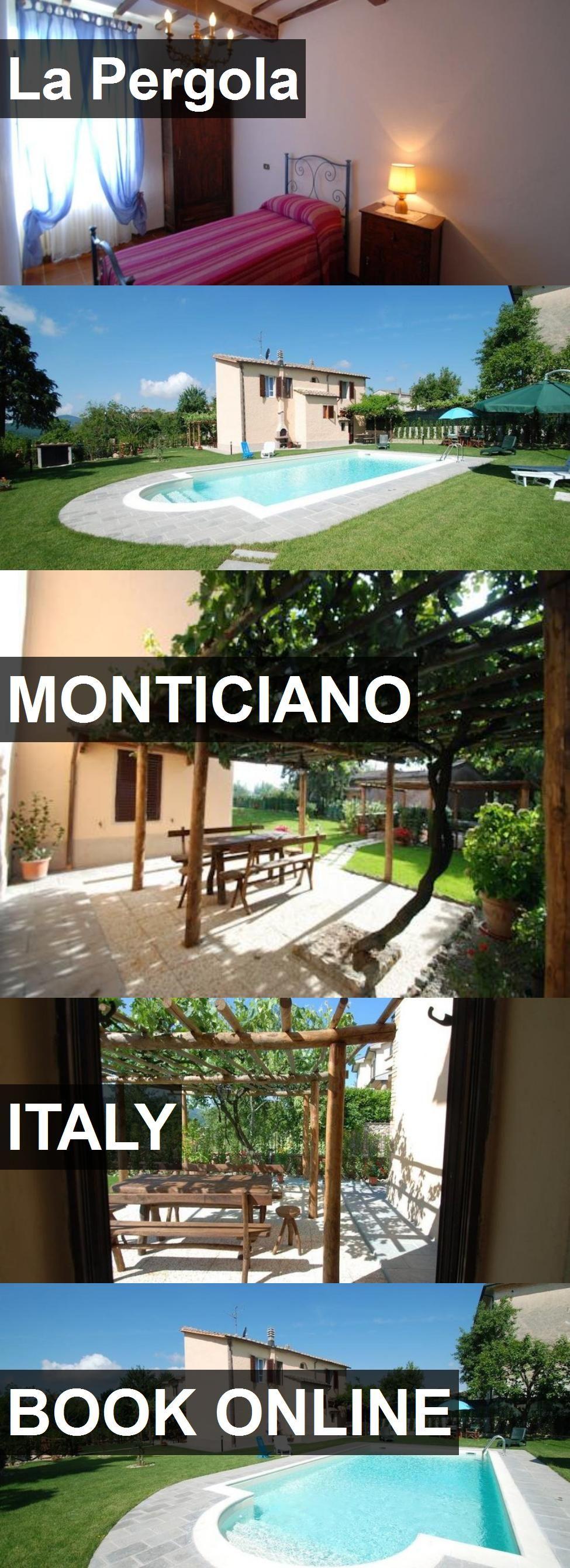 Hotel La Pergola in Monticiano, Italy. For more