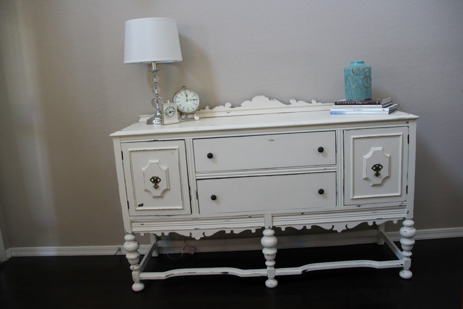 Distressed White Furniture