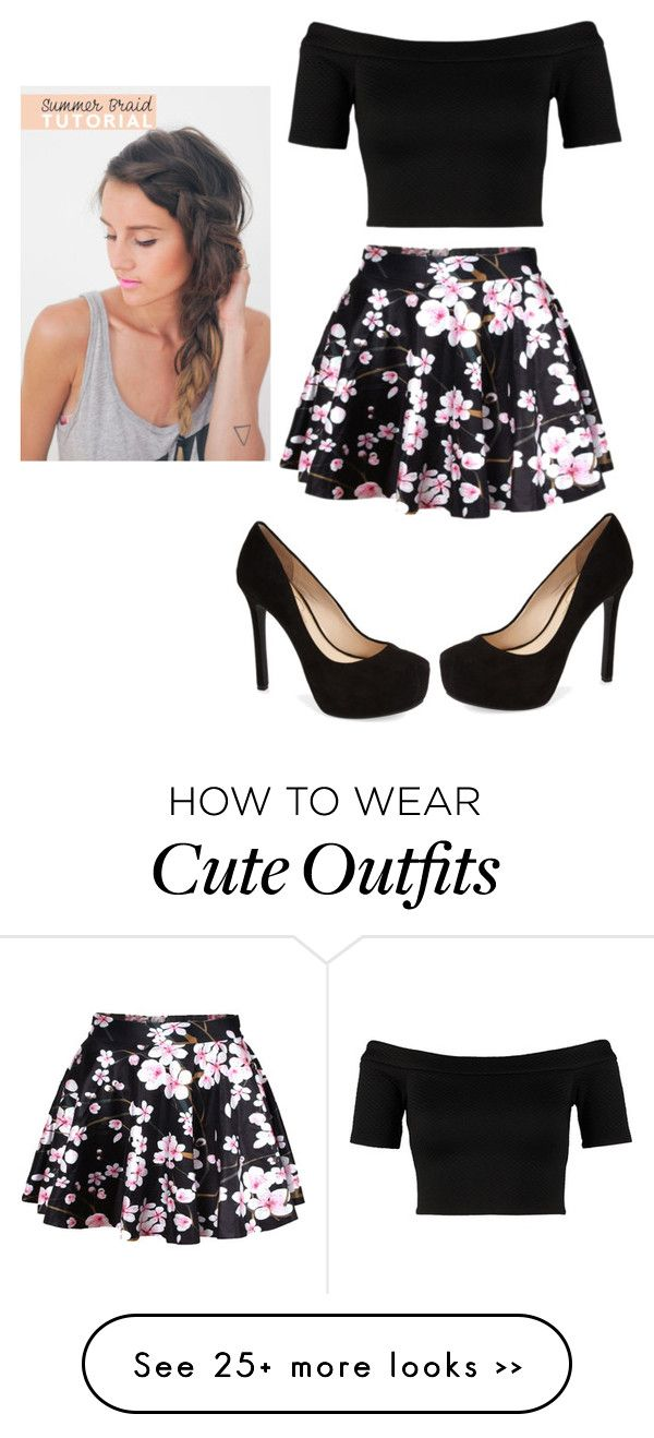 cute random outfit by kenzieeeeeeeeeee on polyvore outfits pinterest kleidung outfit. Black Bedroom Furniture Sets. Home Design Ideas