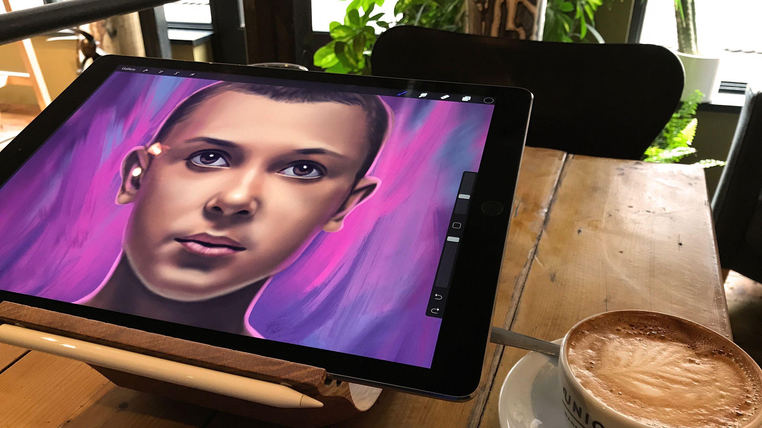 Review: Procreate 4 | Apple Pencil/iPad/Procreate Art | Ipad