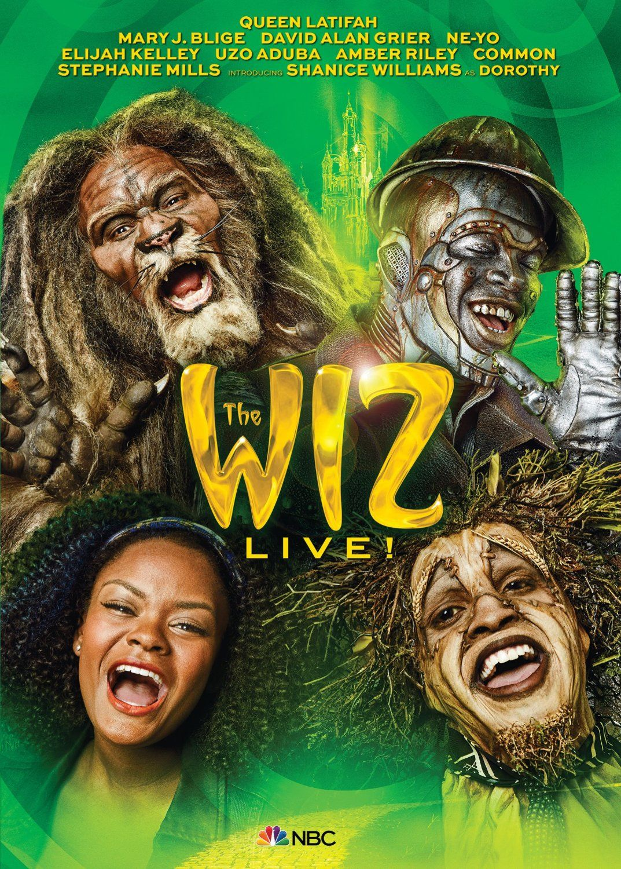 Amazon.com: The Wiz Live!: Shanice Williams, Queen Latifah, Mary J. Blige, David Alan Grier, Uzo Aduba, Amber Riley, Stephanie Mills, Kenny Leon, Craig Zadan, Neil Meron: Movies & TV