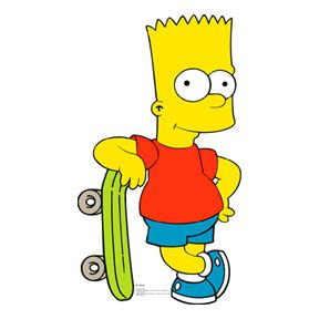 famous-cartoon-character-bart-simpson | Cartoons | Pinterest ...