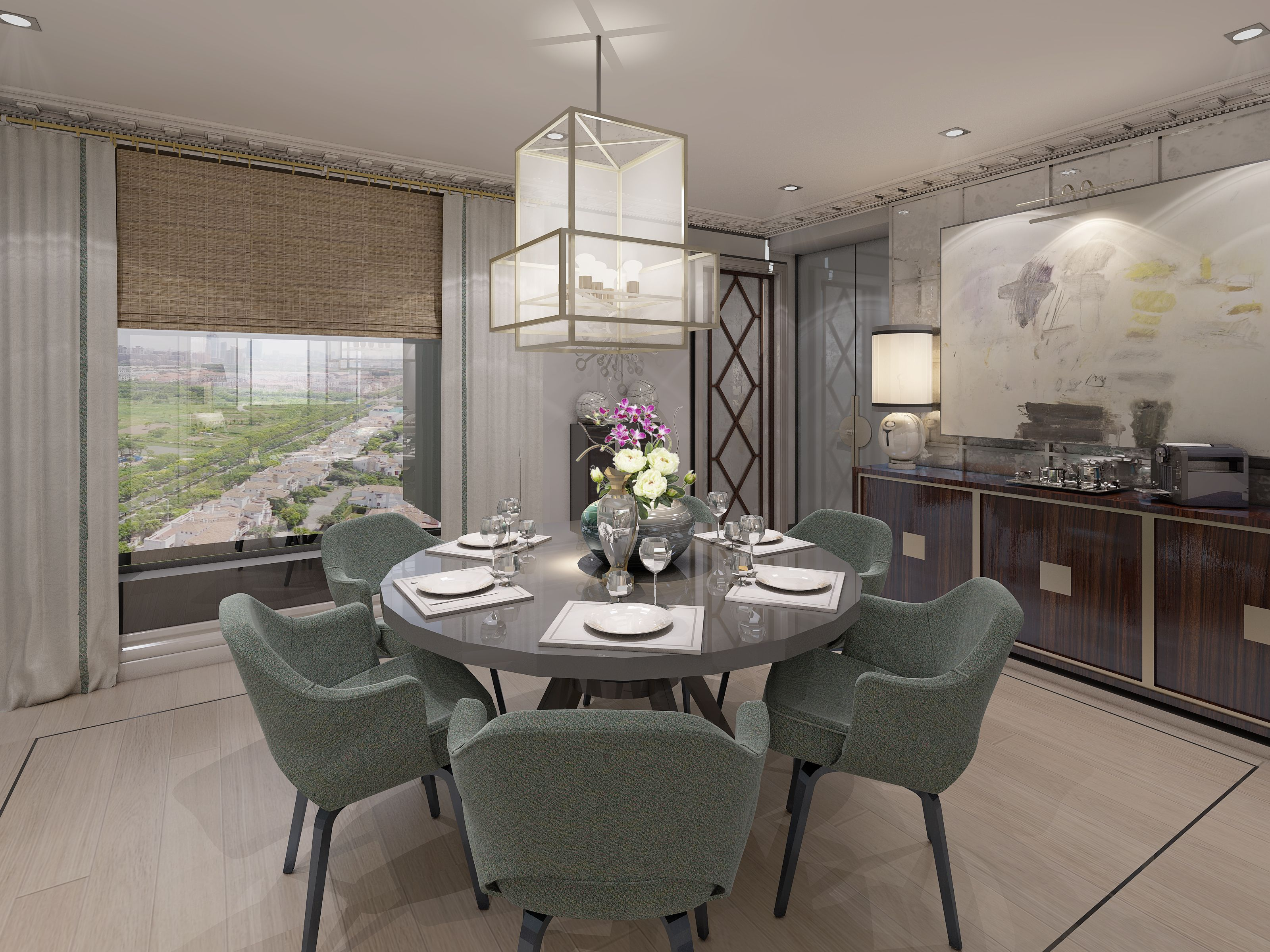 Lovely Apartment Of 250m2 In Shanghai Pudong For A Lawyer And His Family. Designed  By TRIBEKA. Room InteriorRoom DecorationsLawyerShanghaiModern ArtPlushDining  ... Amazing Pictures