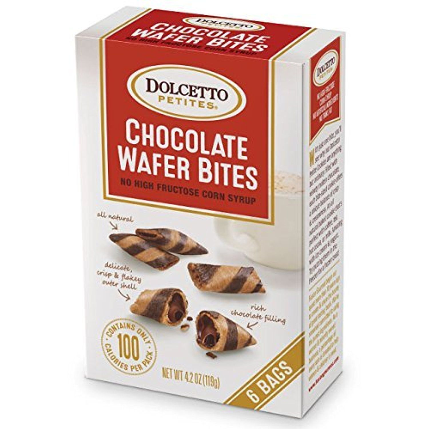 Dolcetto Petites Chocolate Wafer Bites 4.2oz (6bags) by All About Living -- Awesome products selected by Anna Churchill