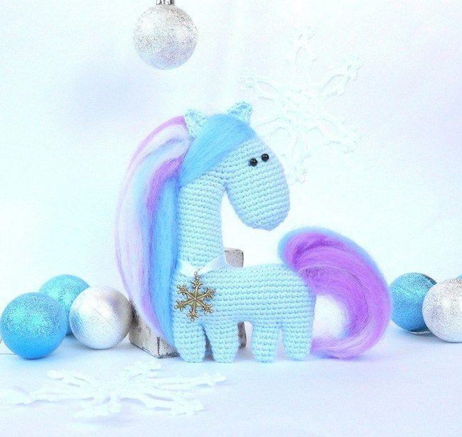 Free amigurumi crochet horse pattern. Patrón Gratis. | Amigurumi y ...
