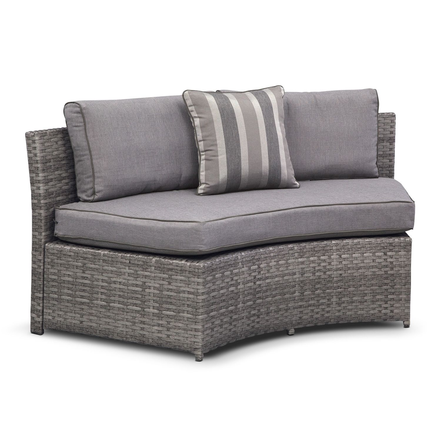 Calypso 5 Pc Outdoor Sectional