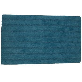 blue bath rugs bath mats for bed bath jcpenney - Jcpenney Bathroom Rugs