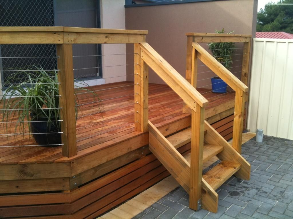 Outdoor deck stairs to finish your project pool decks outdoor deck stairs to finish your project baanklon Images