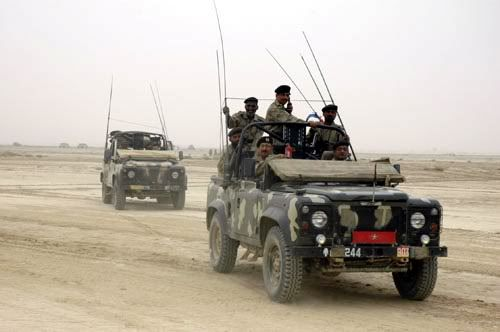 Asian Defence News Pakistan Army Land Rovers Land Rover Army