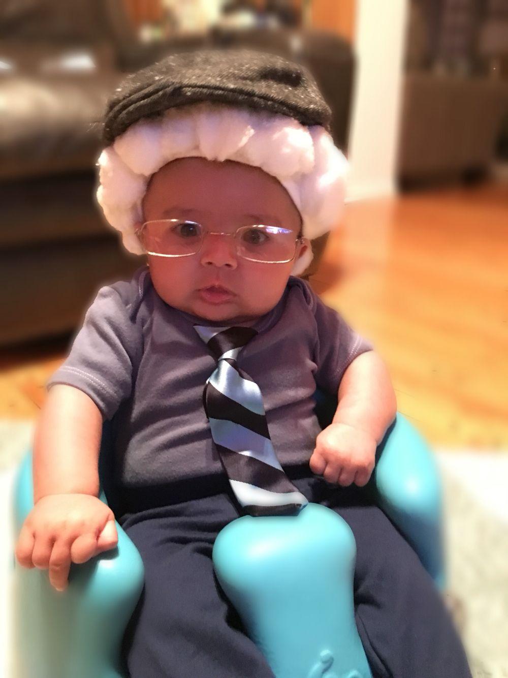 Little old man baby costume | Diy | Toddler halloween ...