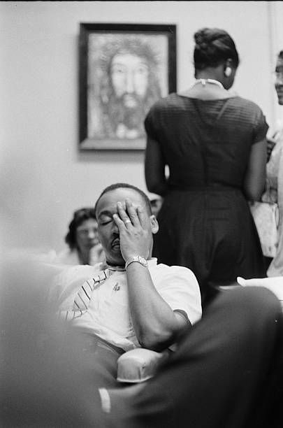 May 1961 A Weary Dr Martin Luther King Inside First Baptist Church S Basement During The Freedom Rider Freedom Riders Martin Luther King Jr Martin Luther King
