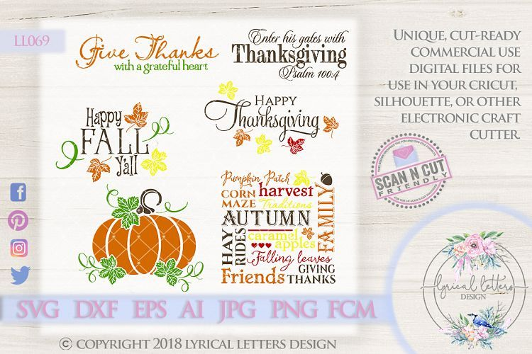 Download Pin On Fall And Thanksgiving Designs From Lyrical Letters Design