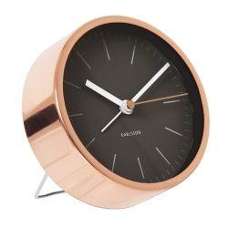 karlsson minimal wecker ø 10 cm minimal and clocks