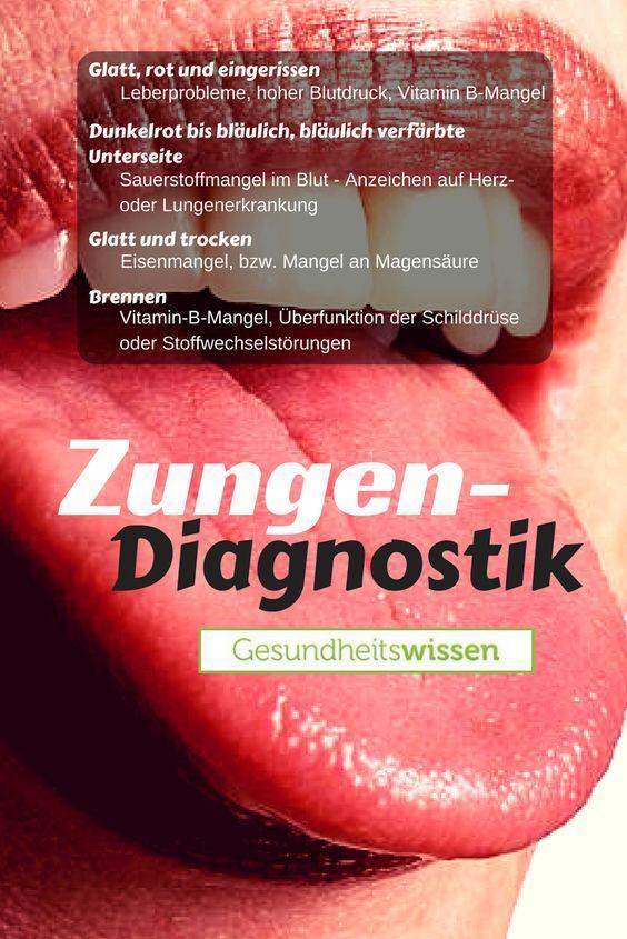 Die Zunge des Menschen ist nicht nur zum Sprechen oder zum Schmecken ...