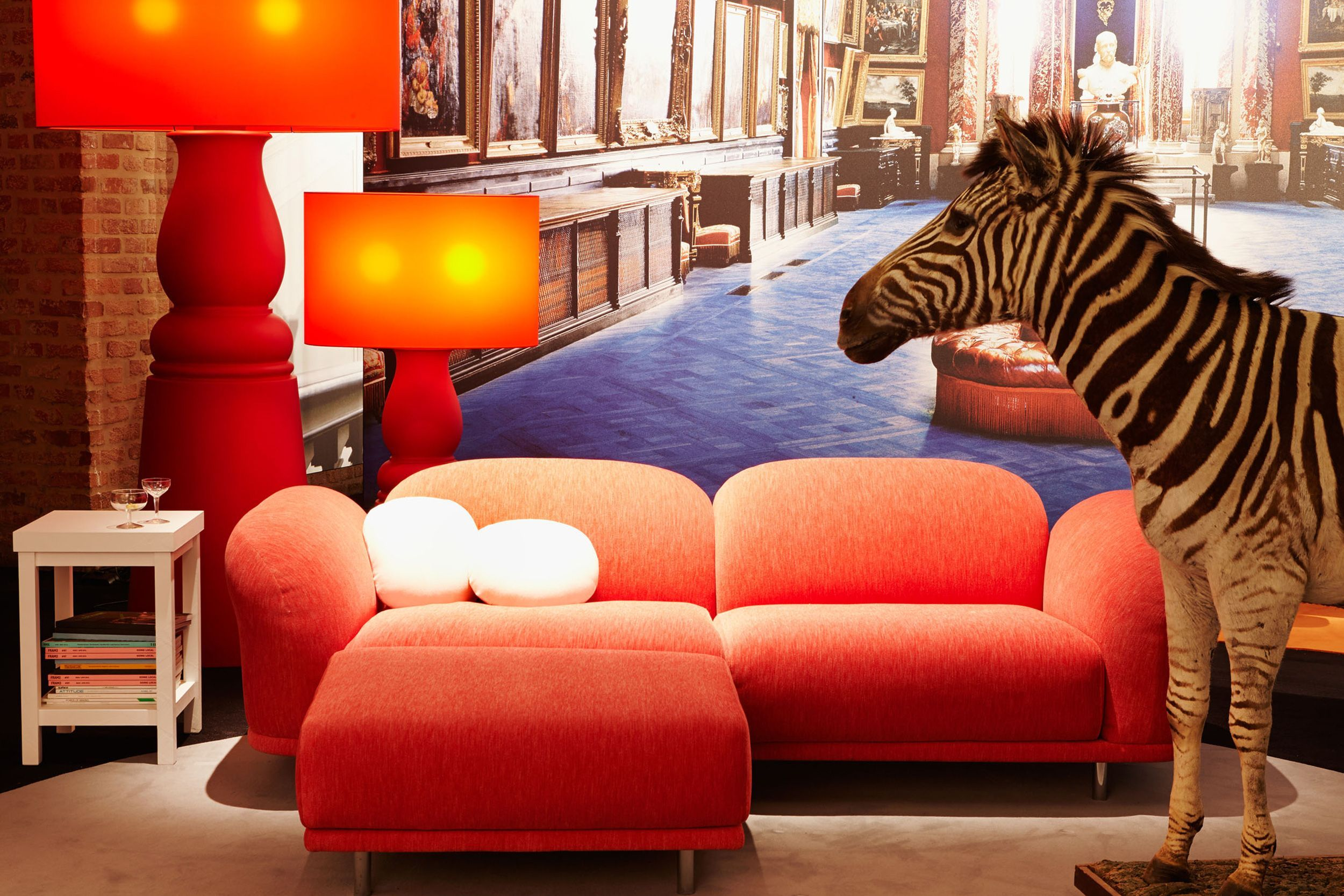 Chaise Lounge Sofa Cloud Sofa by Moooi