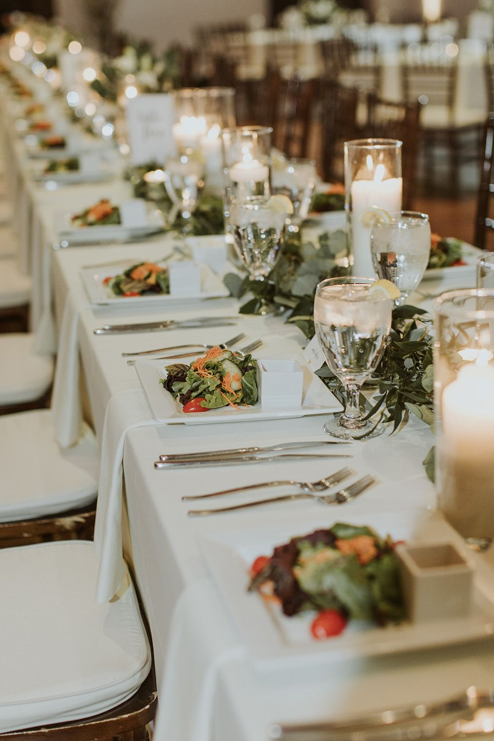 Wedding Table Settings | Plated Dinner | Infinity Events u0026 Catering #exploreinfinitenashville & Wedding Table Settings | Plated Dinner | Infinity Events u0026 Catering ...