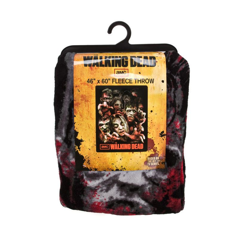 Walking Dead Throw Blankets New The Walking Dead Fleece Throw Blanket  Fleece Throw And Walking Dead Review