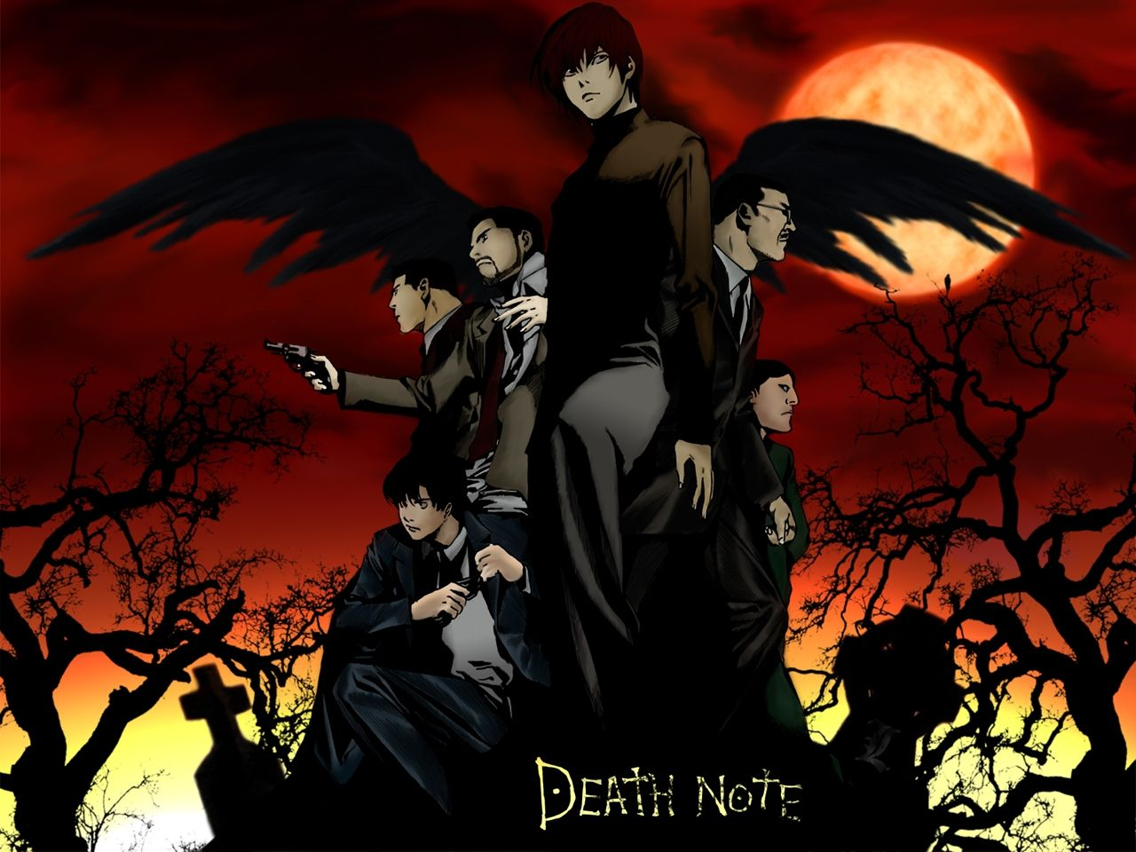 The Investigation Team Deathnote  Death Note    Death
