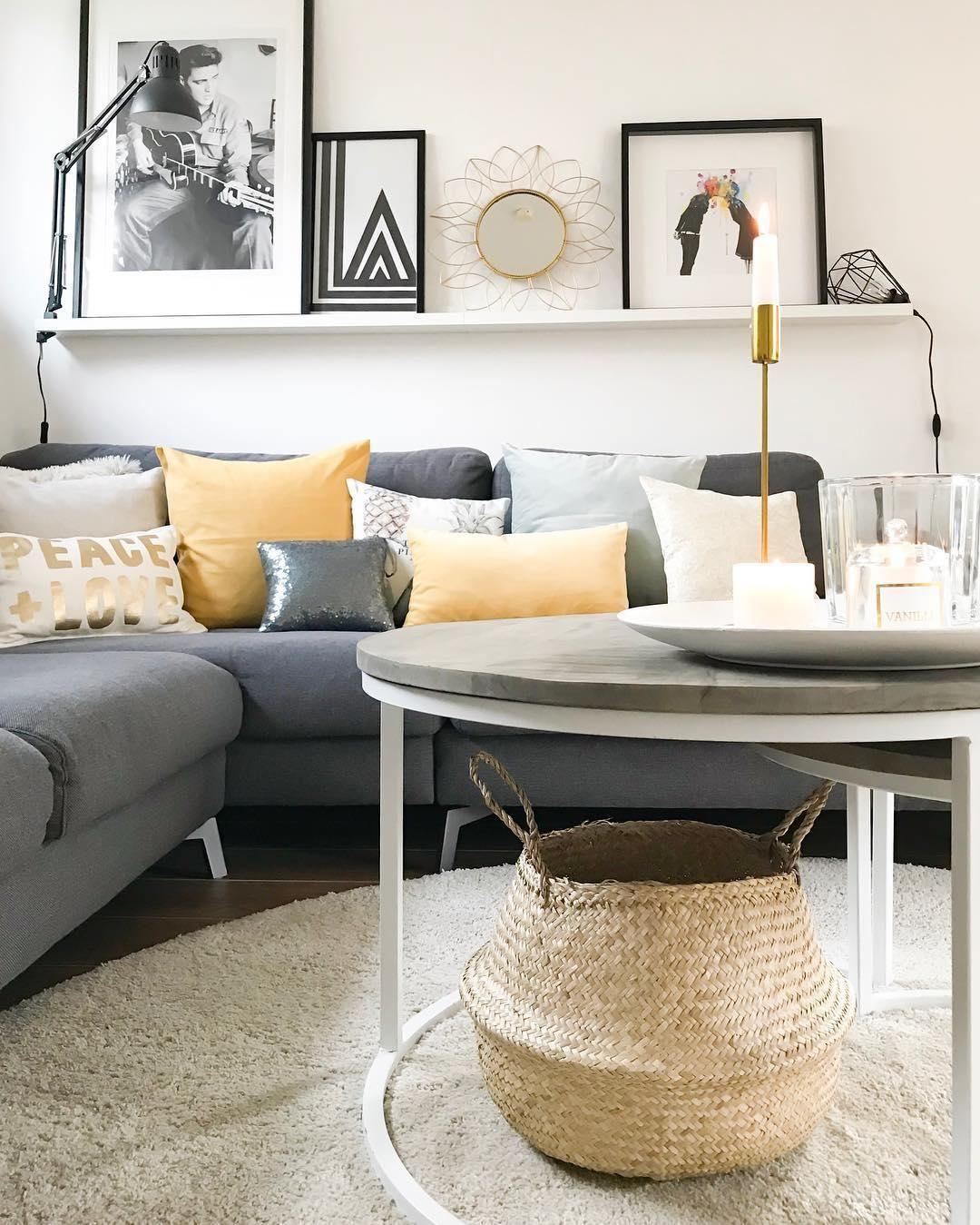 Aufbewahrungskorb Seagrass  Wohnzimmer  Wohnzimmer sofa