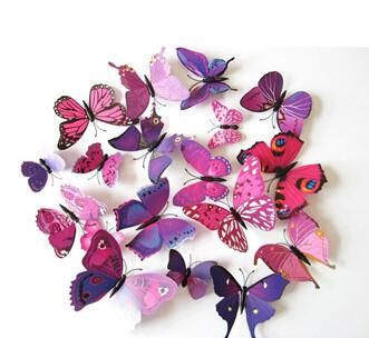 3D Butterfly Wall Stickers Decor For Home Decoration   Wanelo Gift     3D Butterfly Wall Stickers Decor For Home Decoration   Wanelo Gift Ideas
