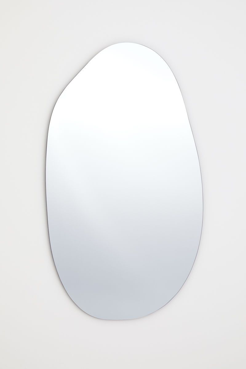 Asymmetrischer Spiegel In 2020 Mirror Black Mirror Led Mirror