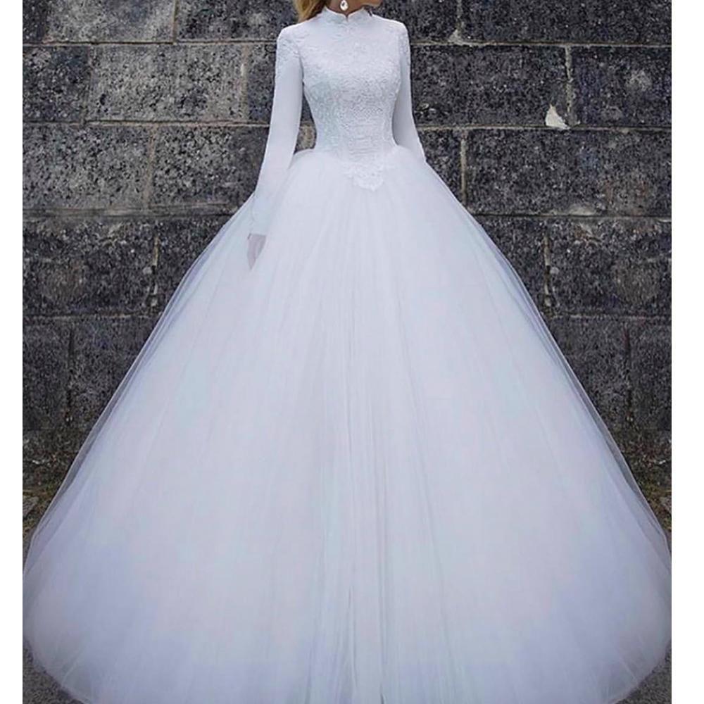 High Neck Wedding Dress 18 >> vintage wedding dresses 18 long