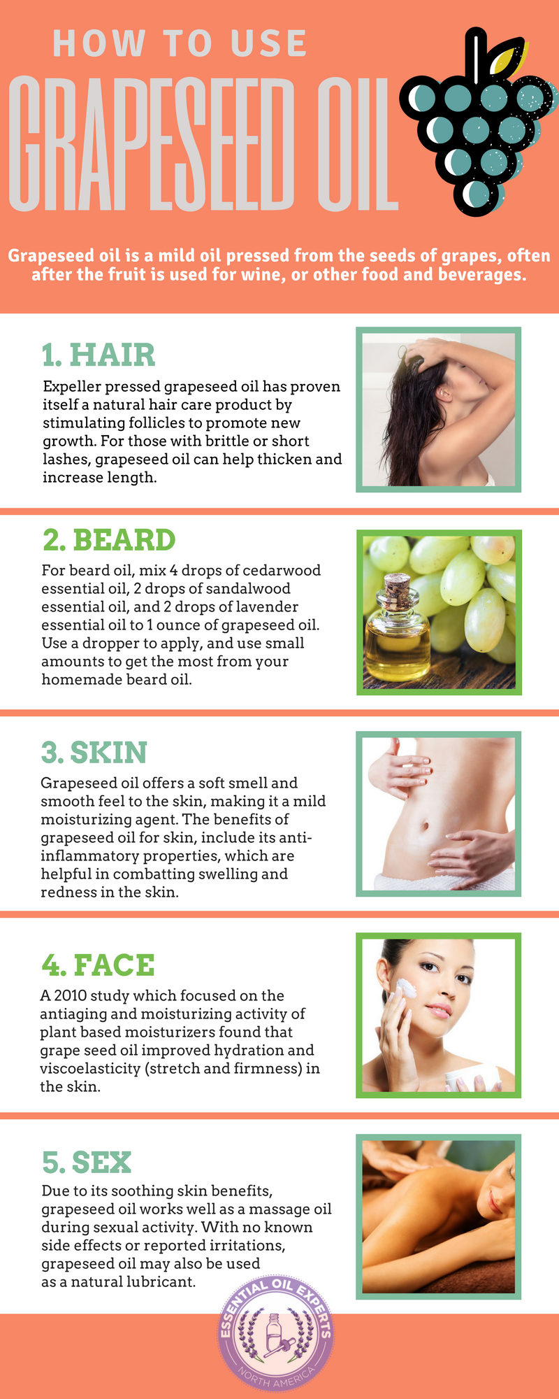Grapeseed Oil Benefits And Uses For Hair Skin Face Where To Buy Grapeseed Oil Benefits Coconut Oil For Skin Oil Skin Care