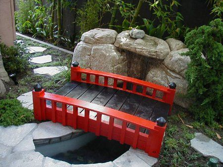 how to make the garden bridge wwwcoolgardenme - Japanese Wooden Garden Bridge