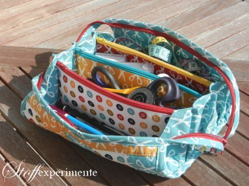 Sew Together Bag | Frame purses | Etui nähen, Taschen ...