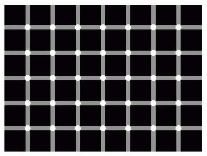 optical illusions dots moving illusion move count eye tricks funny discover