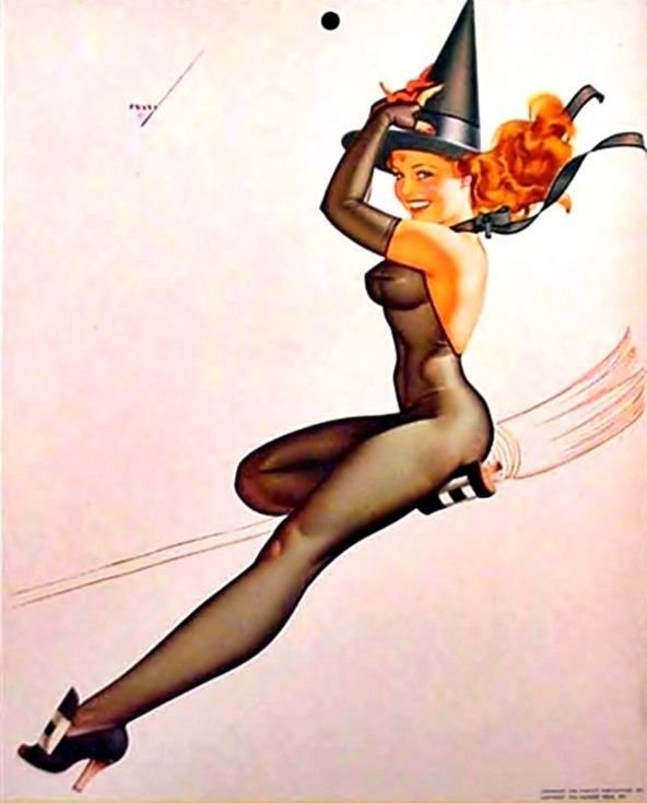 Image result for sexy halloween pin up