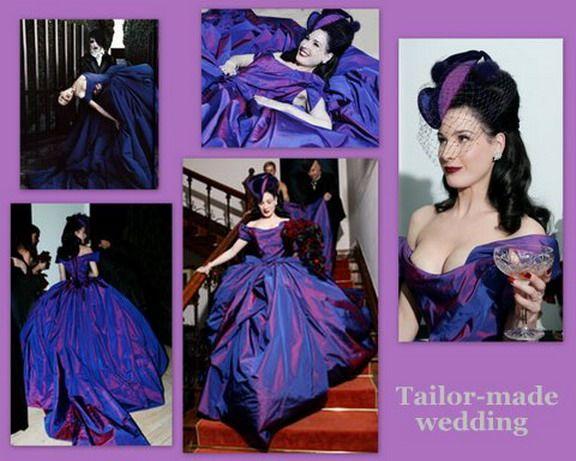 Dita's Beautiful Wedding Dress