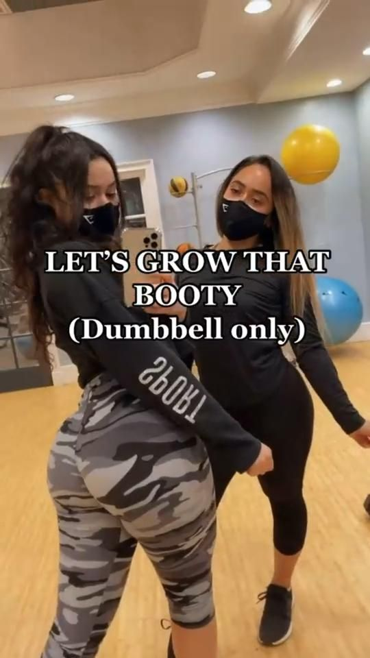 Dumbbells At Home Glutes Workout Butt Workout To G