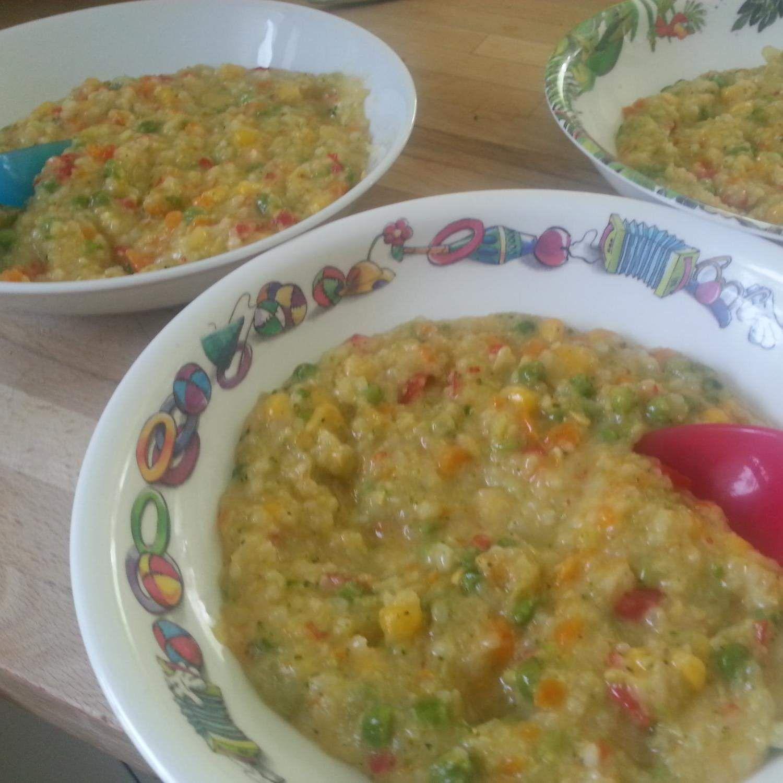 Gemüserisotto für Kinder Rezept Gemüserisotto für Kinder von weinmon - Rezept der Kategorie Hauptgerichte mit Gemüse